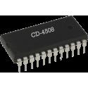CD4508 - Latch dual de 4 bits CMOS