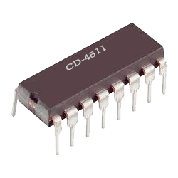 CD4511 - Decodificador BCD a 7 segmentos CMOS