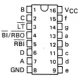 SN7447 - Contador-Decodificador BCD-7 segmentos TTL