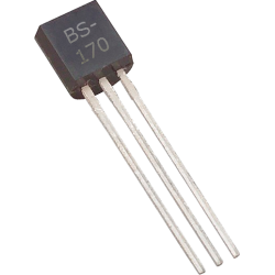 "Transistor MOSFET ""N"" BS-170 TO-92"
