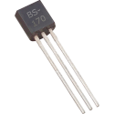 """Transistor MOSFET """"N"""" BS-170 TO-92"""