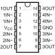 LM-324 - Amplificador Operacional Cuádruple