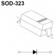 Diodo rectificador 1N-4148 SMD-SOD323